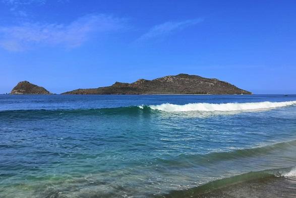Isla Venados junto a isla de Lobos