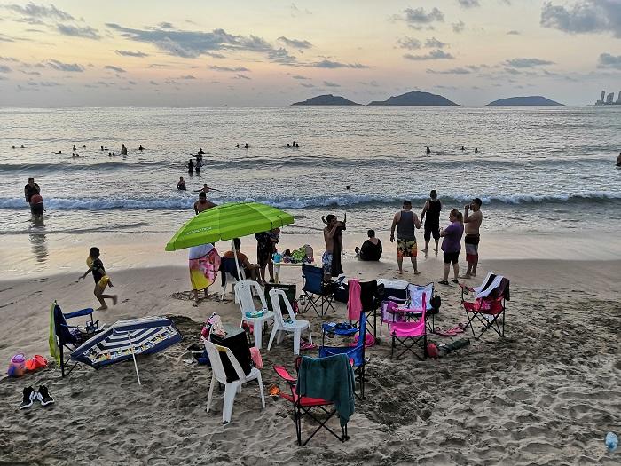 guía playas Mazatlán