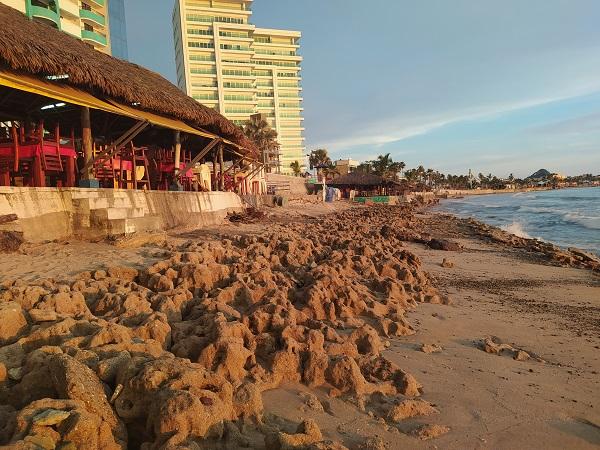 erosión de playa